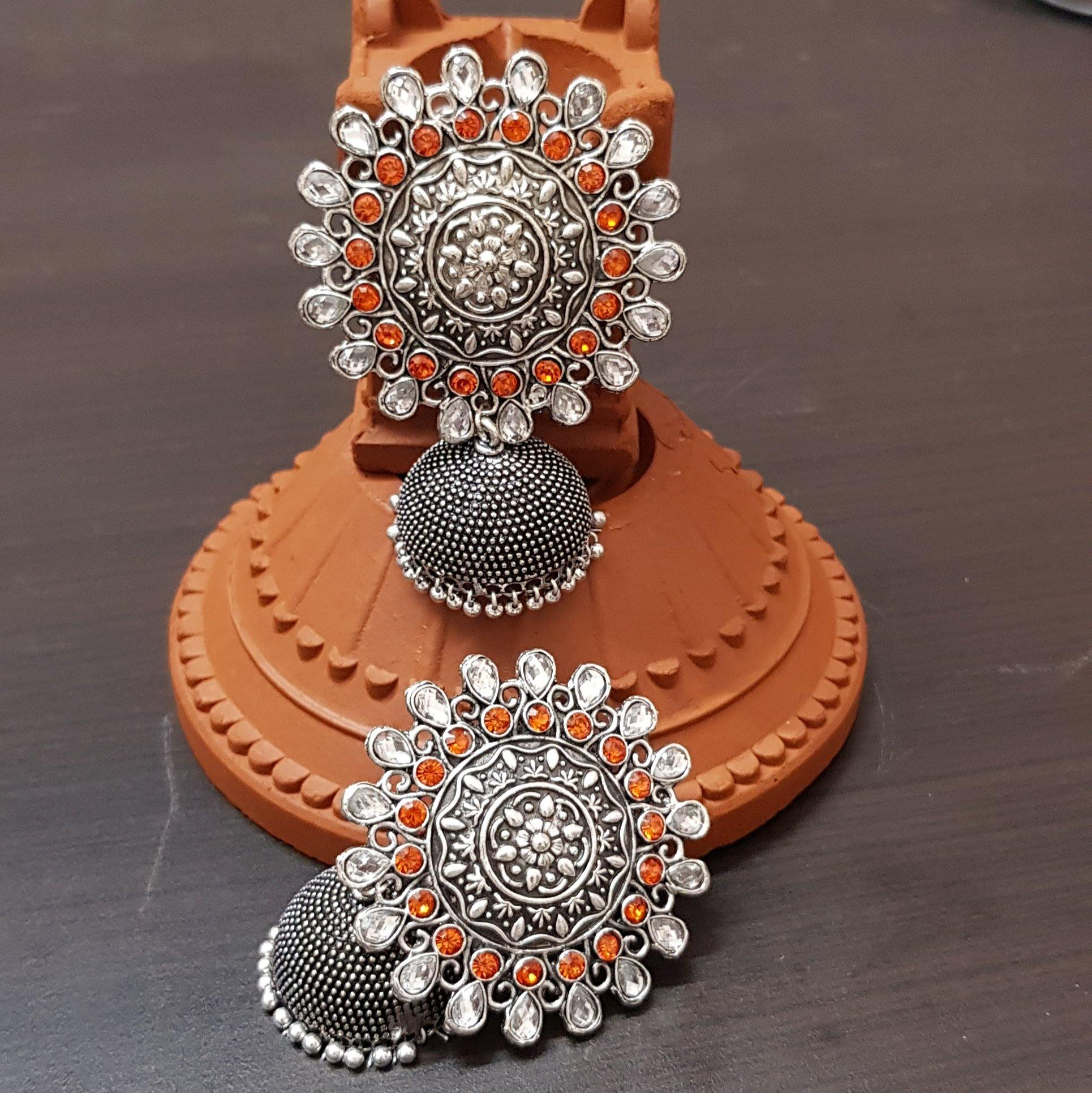 nayanthara jhumki earrings