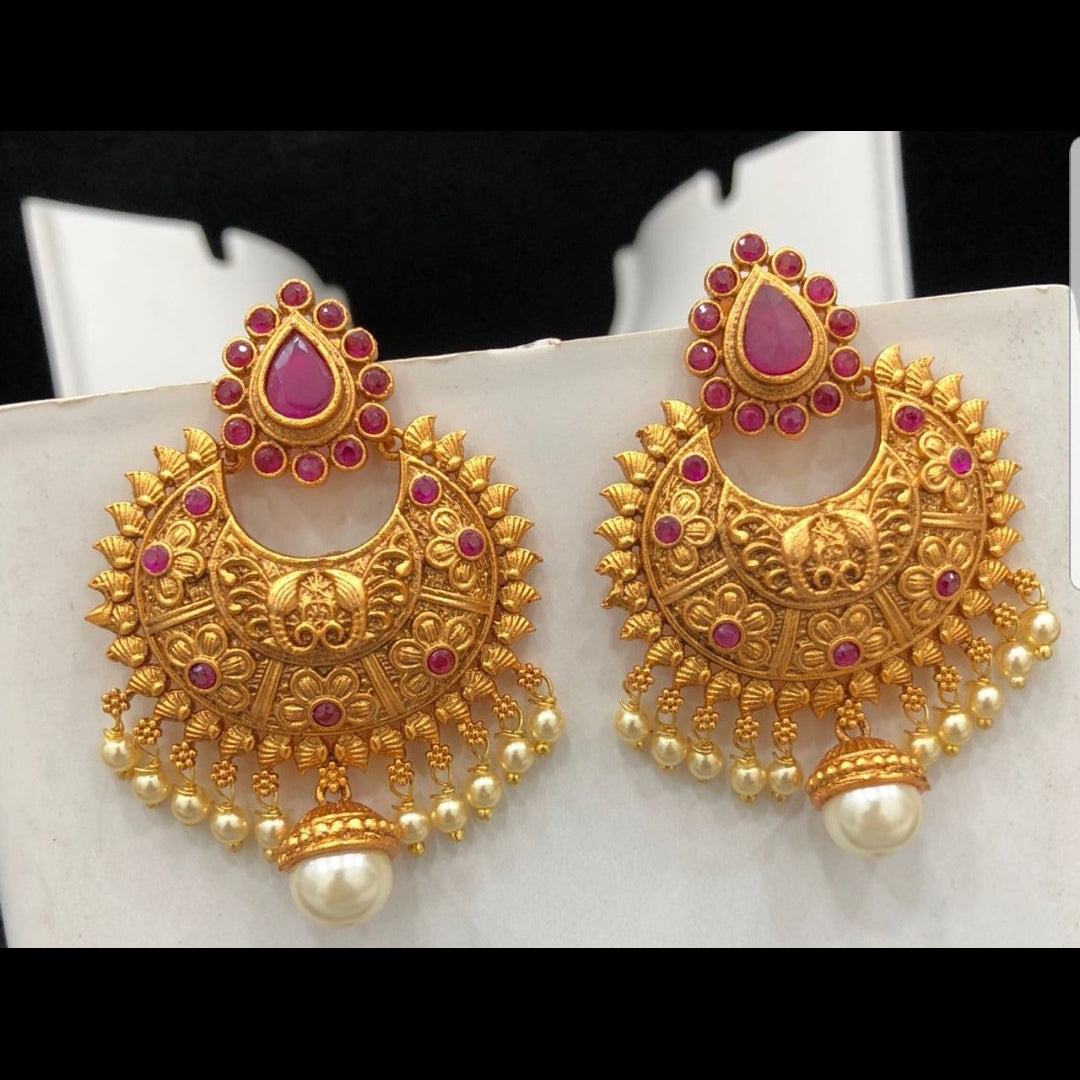 Gorgeous Chandbali Style Earrings