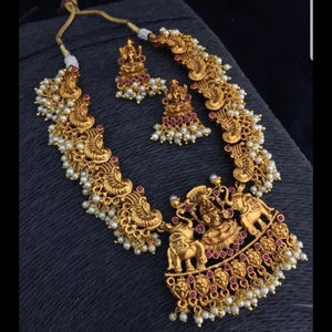 Temple Style Neckset with Earrings