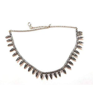 Lumibella German Silver Choker Necklace for Women and Girls