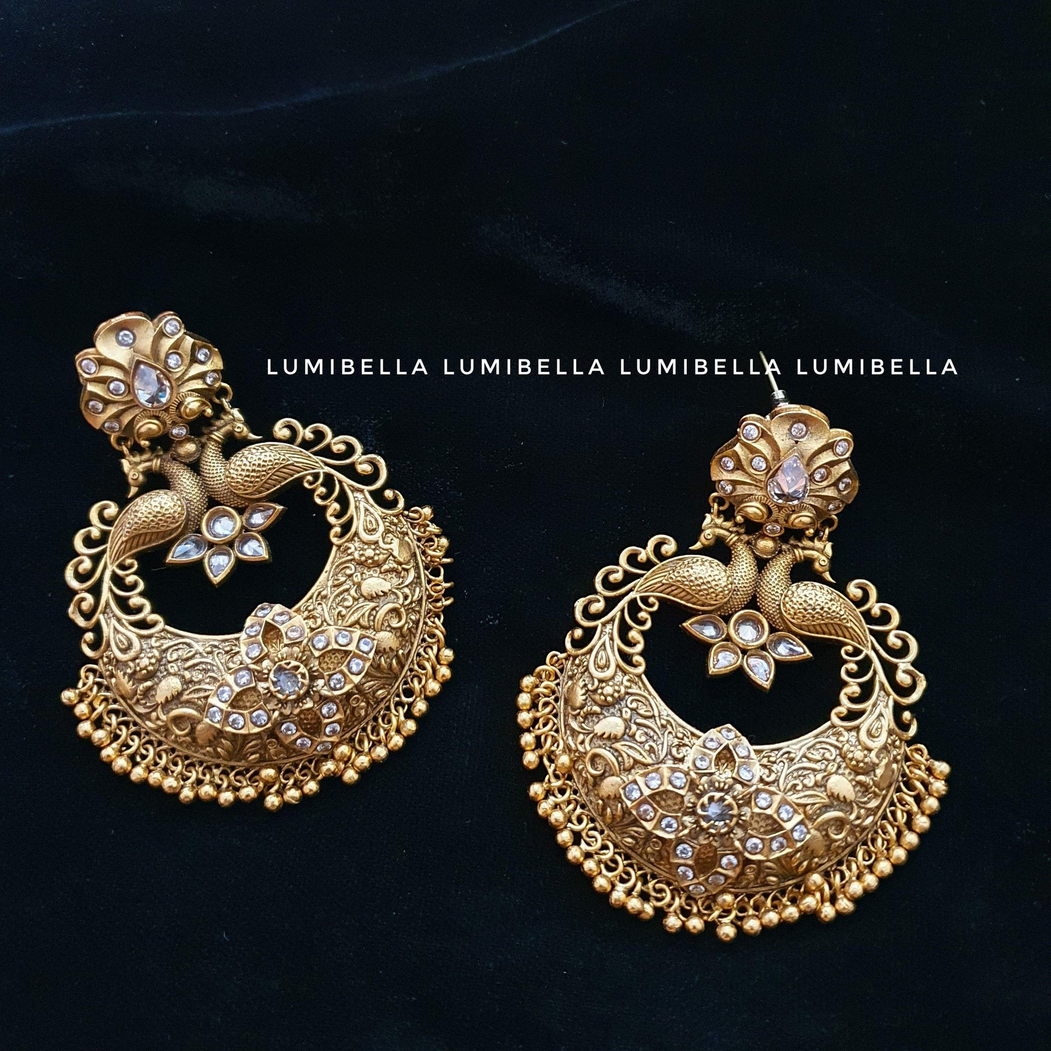 Chandbali earrings lumibella