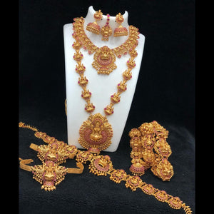 Gorgeous Temple Style Bridal Set