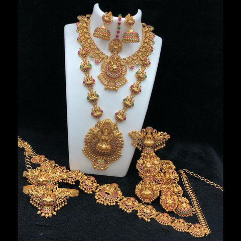 Temple Style Bridal Set