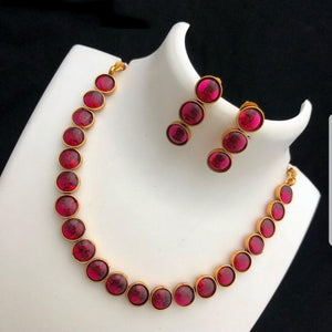 Ruby Kemp Style Neck set
