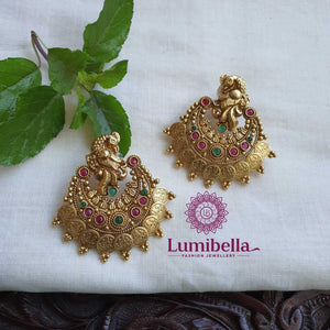 Chandbali Kasu Earrings