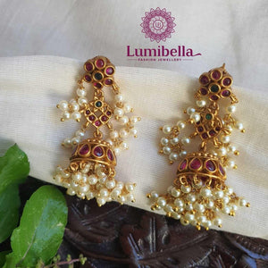Guttapusalu Jhumka Earrings