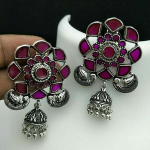 German Silver Earrings