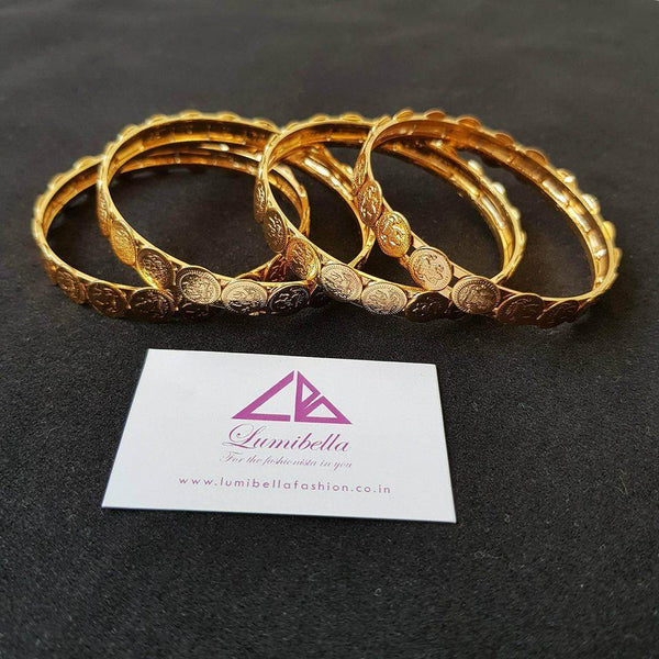 Antique style Temple patterned Bangles