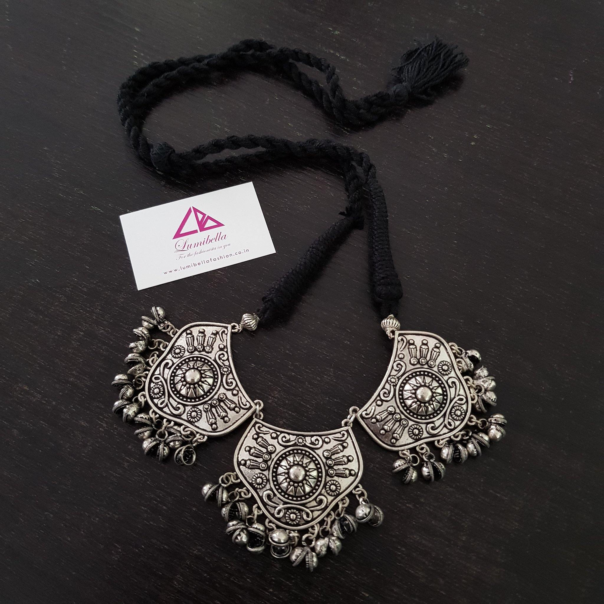 german silver neckset in chennai