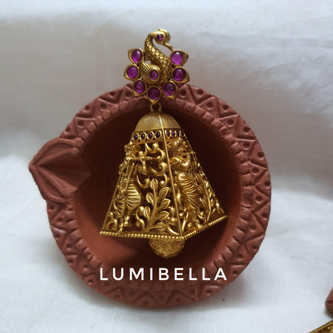 krishna jhumki earrings