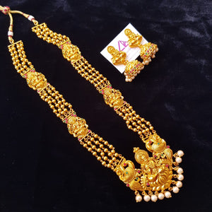 Temple Matte Style Traditional Neckset