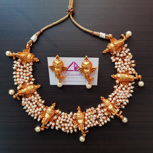 Ganesh Style Traditional Neckset
