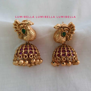 kemp jhumki earrings