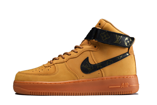 LOUIS VUITTON INSPIRED NIKE AF1 HIGH - Kickked