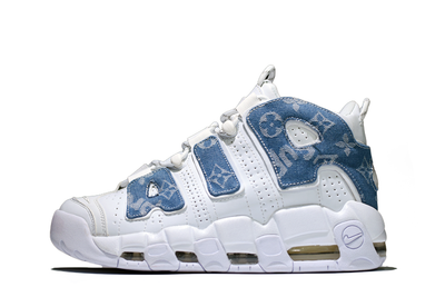Supreme® X LV Nike Air More Uptempo - Kickked