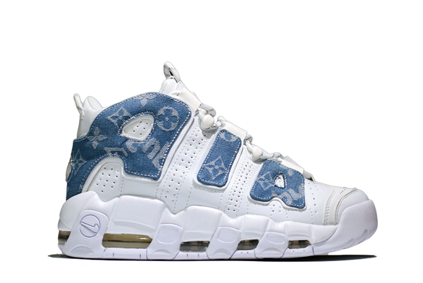 Supreme® X Louis Vuitton Inspired Nike Air More Uptempo - Kickked