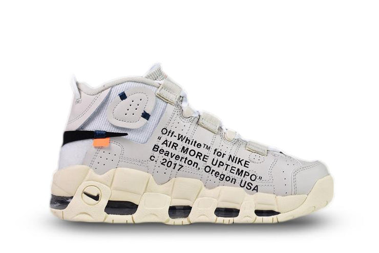 "OFF-WHITE® X NIKE AIR MORE UPTEMPO ""AIR"" - Kickked"
