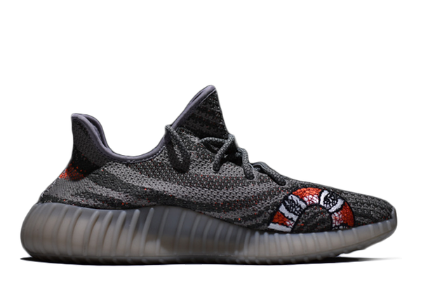 Gucci Inspired Yeezy Boost 350 V2 'BELUGA' - Kickked