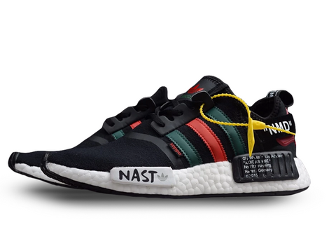 Off-White® x Adidas NMD's 'Black' - Kickked