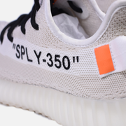 Off-White® x Adidas Yeezy Boost 350 V2 'Cream White' - Kickked