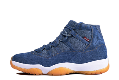 Levi's™ x Air Jordan 11 Retro 'Blue Denim' - Kickked
