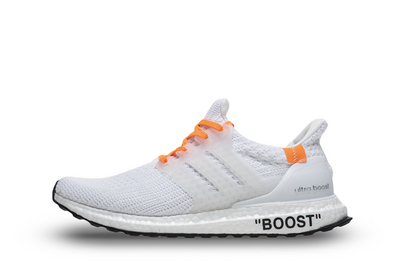 Off-White® x Adidas Ultra Boost 'White' - Kickked