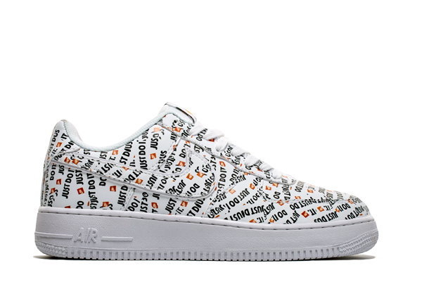 Nike AF1 x Just Do it 'White/Black' - Kickked