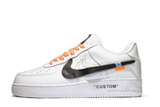 "OFF-WHITE® X NIKE AF1 LOW ""CUSTOM"" - Kickked"