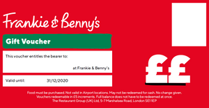 Digital F&B Gift Vouchers