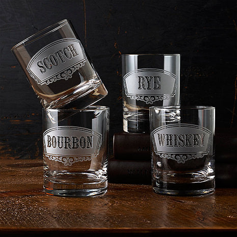 Sip in Style with These Custom Whiskey Glasses From Crystal Imagery