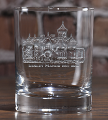 Historic Lesley Manor Glass by Crystal Imagery