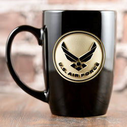 Engraved Air Force Coffee Mug Gifts Personalized