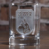 Man's Best Friend Dog Lover Gift, Personalized Dog Breed Whiskey Glass