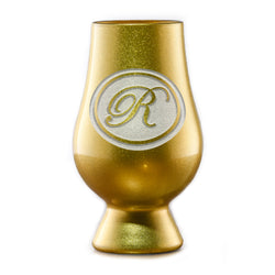 Personalized Gold Glencairn Whisky Glass