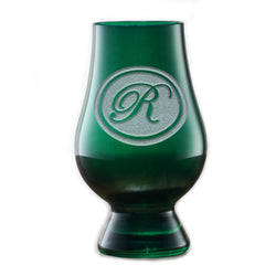 Personalized Green Glencairn Whisky Glass