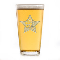 Hero Thank You Gift Coronavirus Covid-19 Pint Pub Beer Glass
