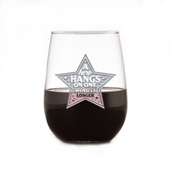 Heroes of Coronavirus Thank You Stemless Wine Glass