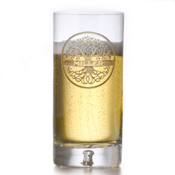 Crystal Highball Cocktail Glass, Family Tree