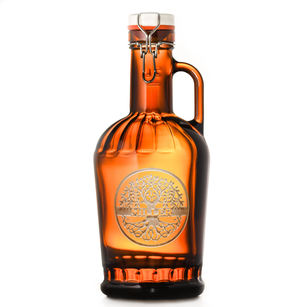 Family Tree Engraved Grolsch German Beer Growler Gift
