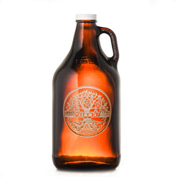 Family Tree Engraved Beer Growler Gift