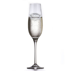 Engraved Crystal Bridesmaid Toasting Glass
