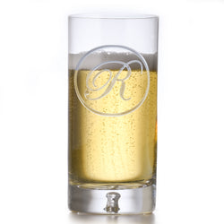 Crystal Hiball Cocktail Glass With Monogram