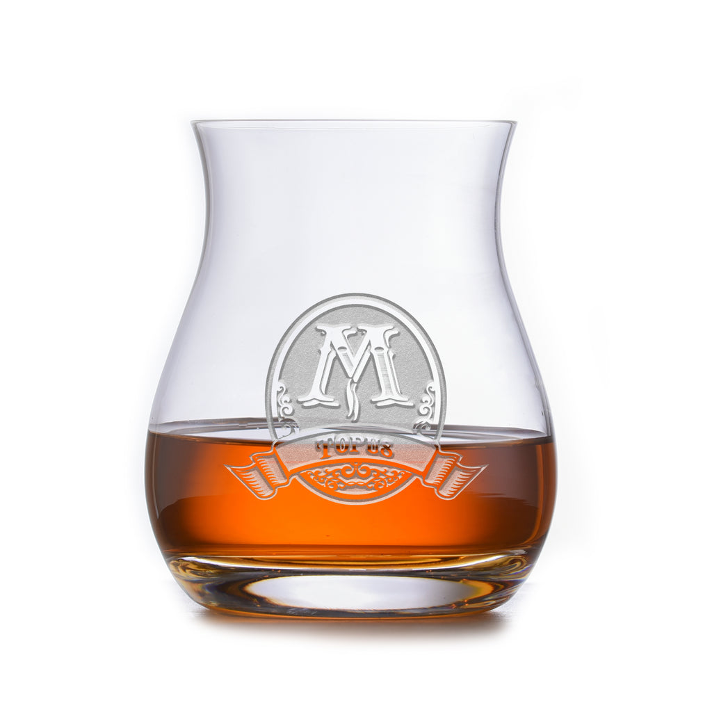 Personalized Crystal Canadian Whiskey Glass