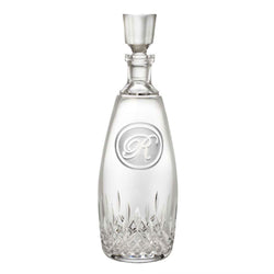 Engraved Waterford Crystal Whiskey Decanter