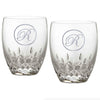 Engraved Waterford Crystal DOF, PAIR