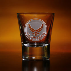 Engraved Air Force Shot Glasses