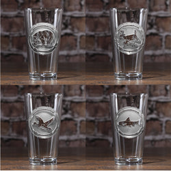 Wildlife Animals Glassware Set