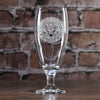 Engraved Army Water. Iced Tea Goblet