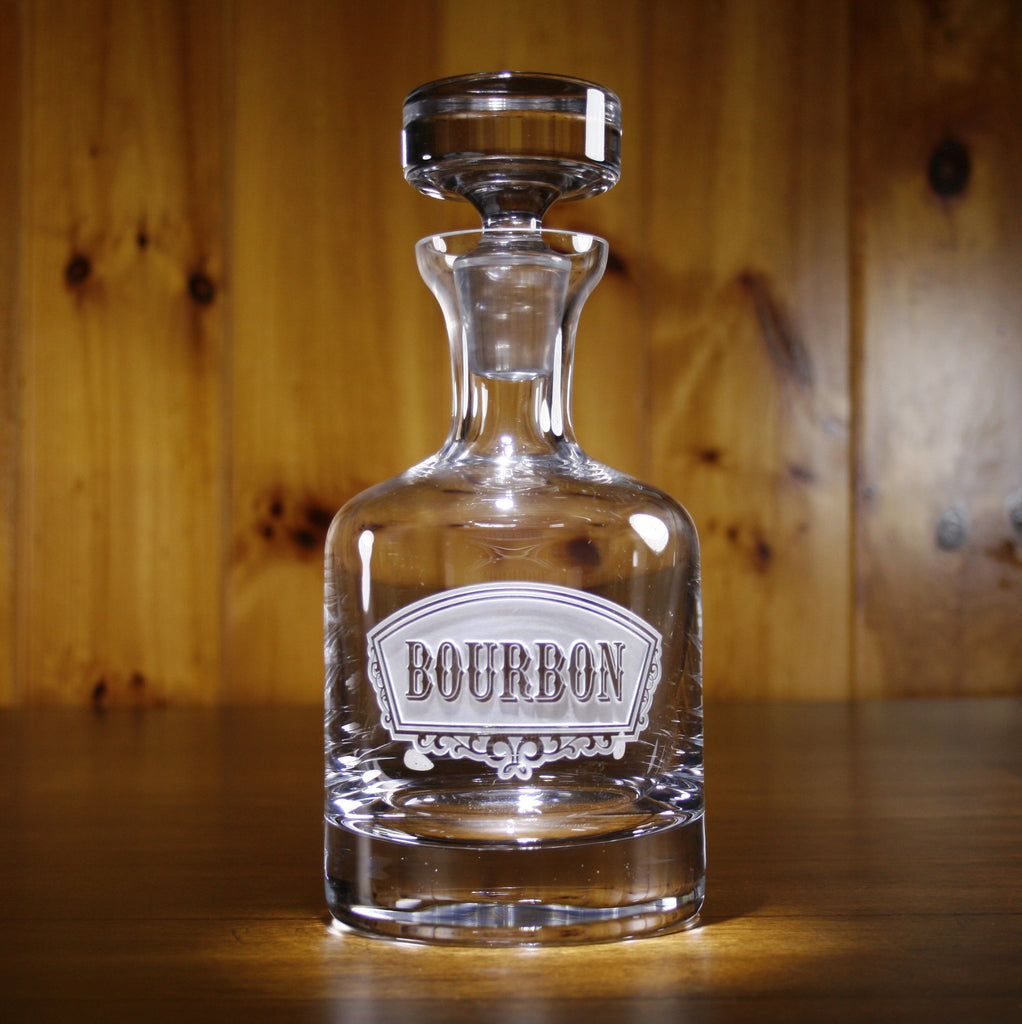 Bourbon Banner Decanter