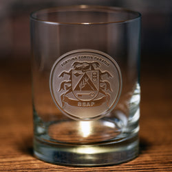 BSAP Whiskey Glass - No Bottom Carve
